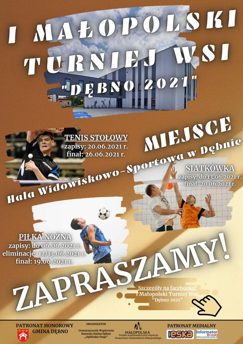 I Małopolski Turniej Wsi Dębno 2021 – podsumowanie