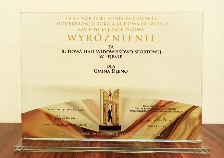 Nasza hala wyróżniona na gali w Zamku Królewskim w Warszawie!